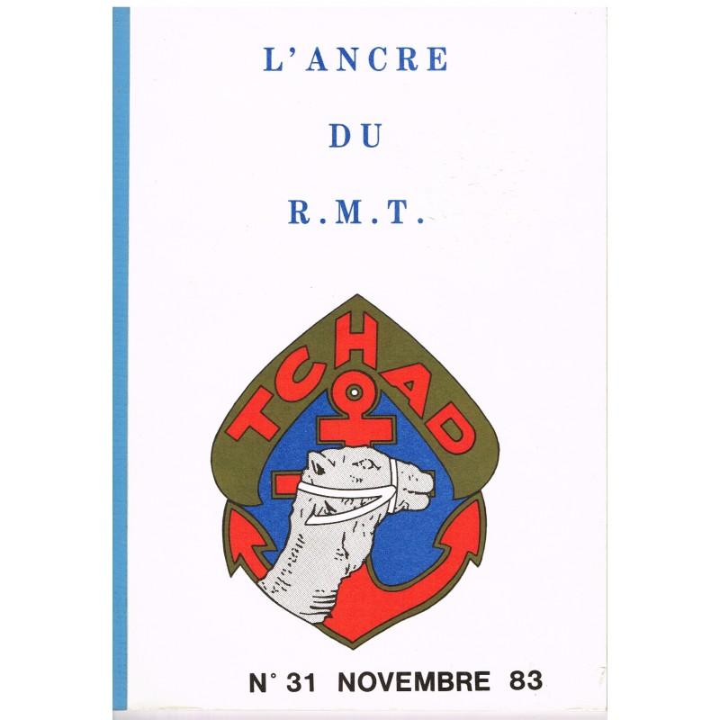 PUBLICATION MILITAIRE  - L'ANCRE DU R.M.T. - TCHAD