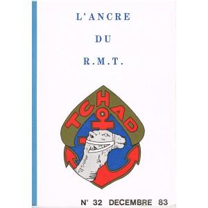 PUBLICATION MILITAIRE  - L'ANCRE DU R.M.T. - TCHAD N° 32