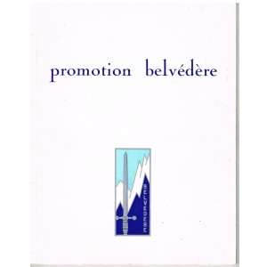 PUBLICATION MILITAIRE  - PROMOTION BELVEDERE