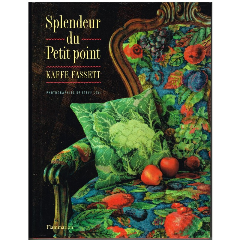 LIVRE SPLENDEUR DU PETIT POINT - KAFFE FASSET