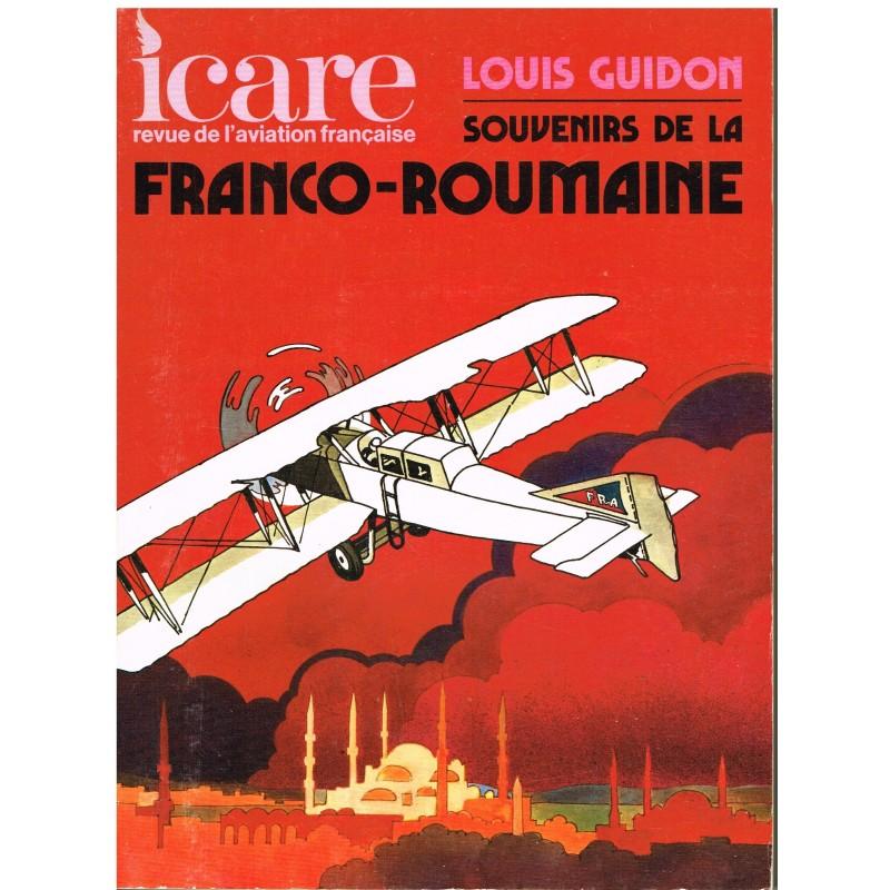 REVUE D'AVIATION - ICARE N° 73 - ETE 1975