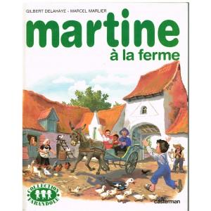 LIVRE : MARTINE A LA FERME