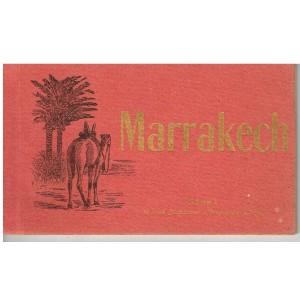 CARNET DE 10 CARTES POSTALES MARRAKECH - SERIE 1