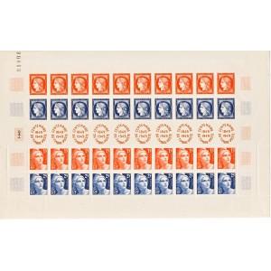feuille-de-10-bandes-du-centenaire-du-timbre