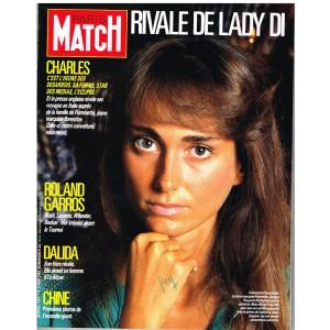 PARIS MATCH N° 1984 JUIN 87 - DALIDA : SON FRERE REVELE