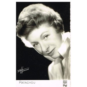 CARTE PATACHOU - STUDIO HARCOURT