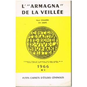 """LIVRE - L""""ARMAGNA"""" DE LA VEILLEE - HENRI SOULERIN"""
