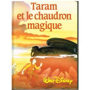 LIVRE - TARAM ET LE CHAUDRON MAGIQUE - WALT DISNEY