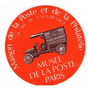 AUTOCOLLANT  MUSEE DE LA POSTE
