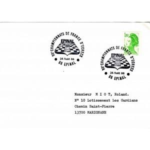 60emes-championnats-de-france-d-echecs-obliteration-temporaire