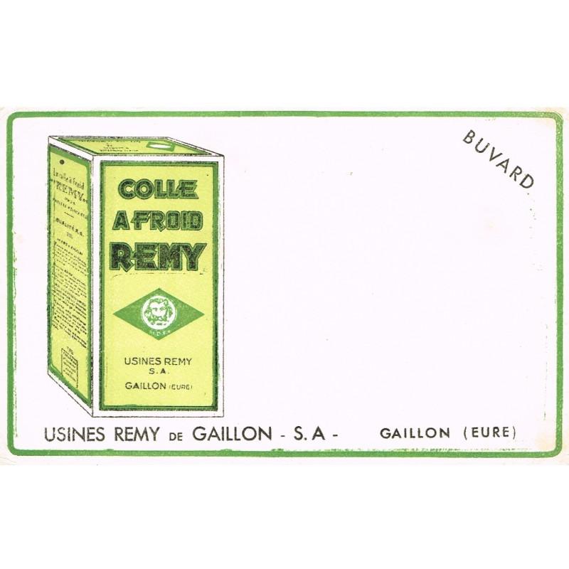 BUVARD COLLE A FROID REMY - USINES REMY DE GAILLON