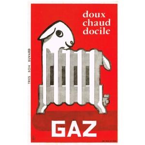 BUVARD GAZ DOUX CHAUD DOCILE