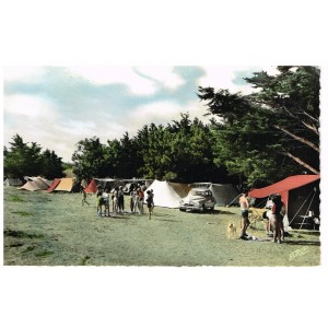 CP17 LA COUARDE - LE TERRAIN DE CAMPING