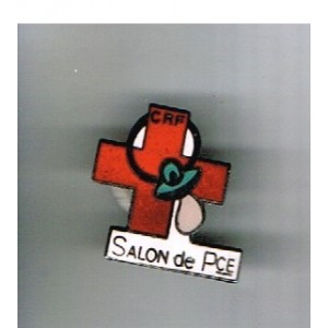 PIN'S CROIX ROUGE SALON DE PROVENCE (13)