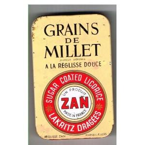BOITE ZAN GRAINS DE MILLET