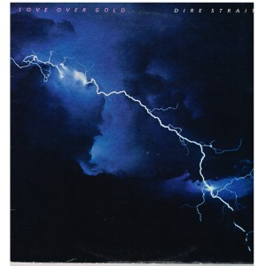 DISQUE 33 TOURS - DIRE STRAITS - LOVE OVER GOLD