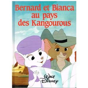 LIVRE - BERNARD ET BIANCA AU PAYS DES KANGOUROUS - WALT DISNEY