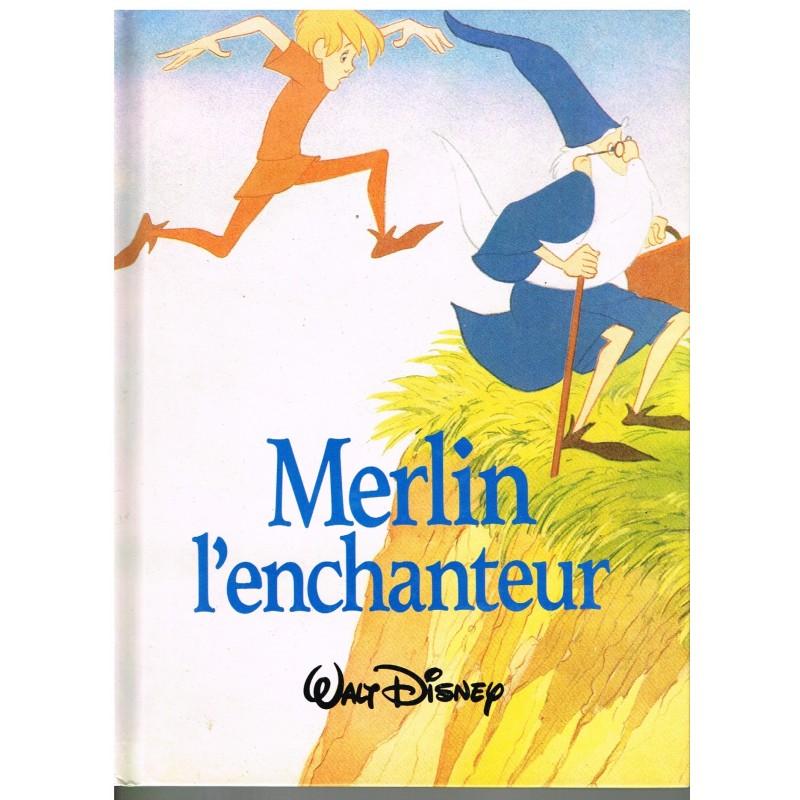 LIVRE -MERLIN L'ENCHANTEUR - WALT DISNEY