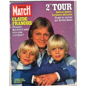 PARIS MATCH N° 1504 : CLAUDE FRANCOIS