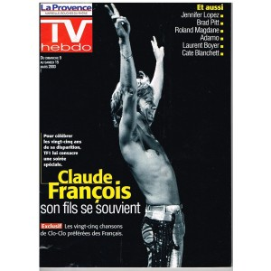 TV HEBDO N° 831 - CLAUDE FRANCOIS : SON FILS SE SOUVIENT