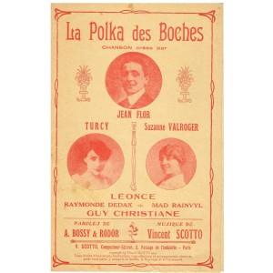PARTITION - LA POLKA DES BOCHES