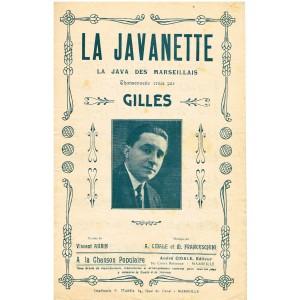 PARTITION JAVA - LA JAVANETTE - GILLES