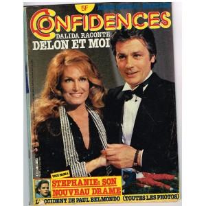 CONFIDENCES N° 1849 MAI 1983 DALIDA : DALIDA RACONTE : DELON ET MOI