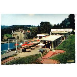 Carte Postale des VOSGES - 88 - PLOMBIERES-LES-BAINS - LE PETIT MOULIN