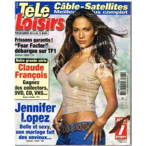 TELE LOISIRS  N° 888 CLAUDE FRANCOIS. 2003