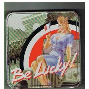 BOITE BE LUCKY METAL - BE LUCKY IN PARIS