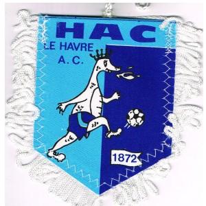 FANION HAC - LE HAVRE A.C - 1872