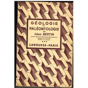 LIVRE - GEOLOGIE ET PALEONTOLOGIE - LEON BERTIN
