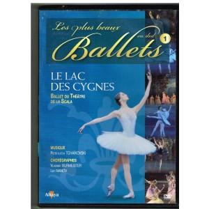 DVD LE LAC DES CYGNES - LES PLUS BEAUX BALLETS EN DVD - N° 1