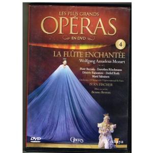 DVD LA FLÛTE ENCHANTEE - LES PLUS GRANDS OPERAS EN DVD - N° 4