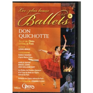DVD DON QUICHOTTE - LES PLUS BEAUX BALLETS EN DVD - N° 4