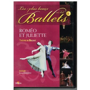 DVD ROMEO ET JULIETTE - LES PLUS BEAUX BALLETS EN DVD - N° 5