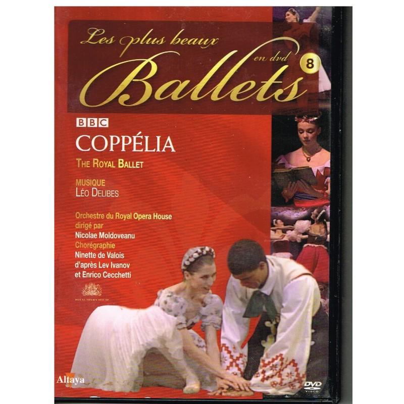 DVD COPPELIA- LES PLUS BEAUX BALLETS EN DVD - N° 8