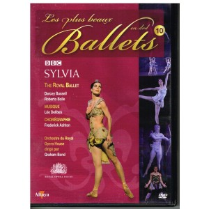 DVD SYLVIA - LES PLUS BEAUX BALLETS EN DVD - N° 9