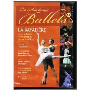 DVD LA BAYADERE - LES PLUS BEAUX BALLETS EN DVD - N° 14