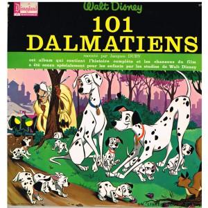 LIVRE DISQUE WALT DISNEY  - LES 101 DALMATIENS