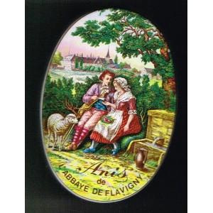 BOITE  ANIS DE L'ABBAYE DE FLAVIGNY