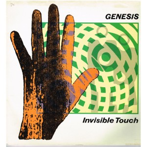 DISQUE 33 TOURS - GENESIS - INVISIBLE TOUCH
