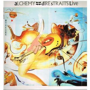 ALBUM 2 DISQUES 33 TOURS - DIRE STRAITS - ALCHEMY