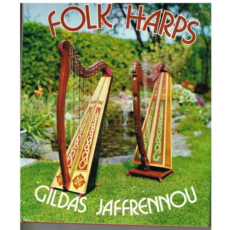 LIVRE : FOLK HARPS - GILDAS JAFFRENNOU
