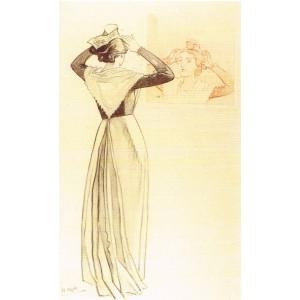 CARTE POSTALE LEO LELEE (1872-1947) LA COIFFE