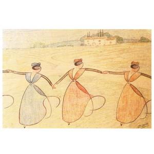 CARTE POSTALE LEO LELEE (1872-1947) FARANDOLE EN PROVENCE