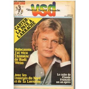 VSD  N° 79 CLAUDE FRANCOIS 1979