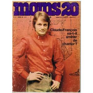 MOINS 20 N° 35 CLAUDE FRANCOIS 1968