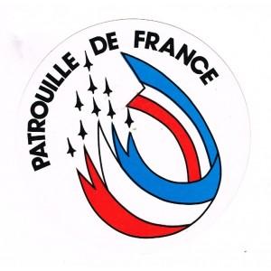 ADHESIF DE LA PATROUILLE DE FRANCE