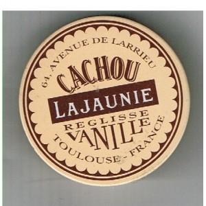 BOITE CACHOU LAJAUNIE REGLISSE VANILLE